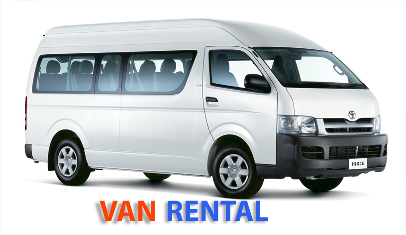 Affordable Van Rental/Coach rental service in Kuching