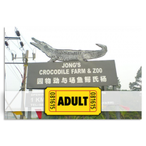 Jong crocodile farm Entrance Ticket For Adult