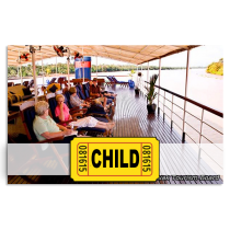 Sarawak Sunset River Cruise	Entrance Ticket for Child(4-11 years old)