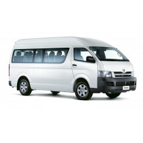 Toyota hiace manual (10 seaters including driver)