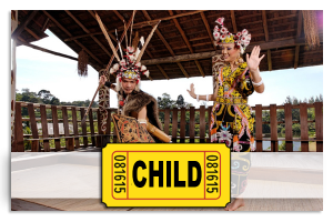Sarawak cultural VillageEntrance Ticket for Child (6-12 year old)